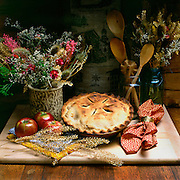 "MORAVIAN APPLE PIE Series -Fine art photograph from Bethlehem,PA-""The Christmas City,USA"".  ""Moravian Apple Pie with Crust""- (#4 of 4.)  Created 08/16/1981.. Available for purchase -digital print hard copy only...05142010. Photo: Copyright 2010 Gregory M. Fota/Fotagraphy"