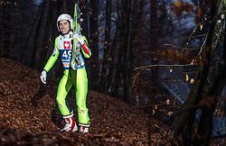 05.01.2014, Paul Ausserleitner Schanze, Bischofshofen, AUT, FIS Ski Sprung Weltcup, 62. Vierschanzentournee, Training, im Bild Stefan Kraft (AUT) // Stefan Kraft (AUT) during practice Jump of 62nd Four Hills Tournament of FIS Ski Jumping World Cup at the Paul Ausserleitner Schanze, Bischofshofen, Austria on 2014/01/05. EXPA Pictures © 2014, PhotoCredit: EXPA/ JFK