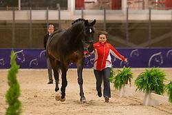 Dorofeeva Tatiana (RUS) - Khorovod <br /> Reem Acra FEI World Cup Goteborg 2013<br /> © Dirk Caremans