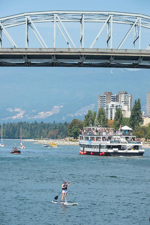 Canada, British Columbia, Vancouver , Burrard bridge