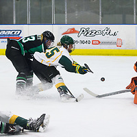 1st year forward Ireland South (25) of the Regina Cougars in action during the Women's Hockey home game on December 1 at Co-operators arena. Credit: Arthur Ward/Arthur Images