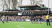 AMSTELVEEN -  Hockey Hoofdklasse heren Pinoke-Amsterdam (3-6). Clubhuis Pinoke. COPYRIGHT KOEN SUYK