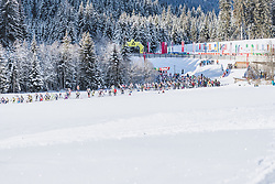 20.01.2019, Loipe Obertilliach, AUT, 45. Dolomitenlauf, Freestyle, im Bild Feature // during the 45th Dolomitenlauf Freestyle race at Obertilliach, Austria on 2019/01/20, EXPA Pictures © 2019 PhotoCredit: EXPA/ Dominik Angerer