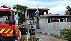 Napier-House fire follows an explosion in Maraenui