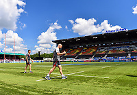 Rugby Union - 2018 / 2019 Gallagher Premiership - Play-Off Semi-Final: Saracens vs. Gloucester<br /> <br /> Gloucester's Willi Heinz comes out onto the pitch, at Allianz Park.<br /> <br /> COLORSPORT/ASHLEY WESTERN