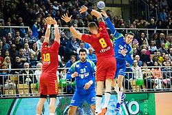 Henigman Nik of Slovenia during friendly handball match between national teams Slovenia and Montenegro on 4th Januar, 2020, Trbovlje, Slovenia. Photo By Grega Valancic / Sportida