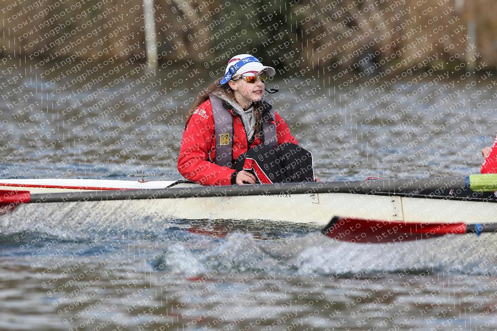 2012.02.25 Reading University Head 2012. The River Thames. Division 1. Rwyfo Cymru IM3 8+