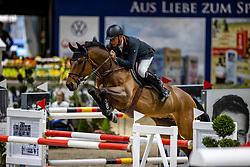 DUBBELDAM Jeroen (NED), Oak Grove's Carlyle<br /> Grand Prix von Volkswagen<br /> Int. jumping competition over two rounds (1.55 m) - CSI3*<br /> Comp. counts for the LONGINES Rankings<br /> Braunschweig - Classico 2020<br /> 08. März 2020<br /> © www.sportfotos-lafrentz.de/Stefan Lafrentz