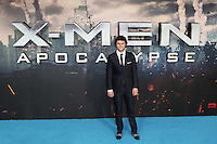 Evan Peters, X-Men: Apocalypse - global fan screening, BFI Imax, London UK, 09 May 2016, Photo by Richard Goldschmidt