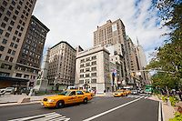 5th avenue and broadway in New York City October 2008