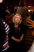 ROSIE BOYCOTT, Celebratory drinks given by  homeless charity, StreetSmart, last night at the Groucho Club in Soho, congratulating the team on the £450,000 it raised last year for the homeless nationwide.  Groucho  Club, Dean S. t. 7 April  2009