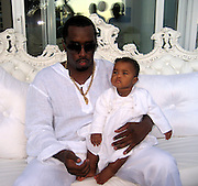 P. Diddy with one of his twin kids.P. Diddy Real White Party to commemorate Labor Day.P. Diddy Easthampton Estate.Easthampton, NY, USA.Sunday, September, 02, 2007.Photo By Celebrityvibe; .To license this image please call (212) 410 5354 ; or.Email: celebrityvibe@gmail.com;.