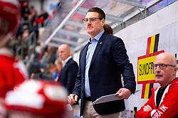 January 26, 2019 - TimrÂ, SVERIGE - 190126 TimrÅ's assisterande trÅnare Johan Thelin under ishockeymatchen i SHL mellan TimrÅ' och FÅrjestad den 26 januari 2019 i TimrÅ (Credit Image: © P€R Olert/Bildbyran via ZUMA Press)