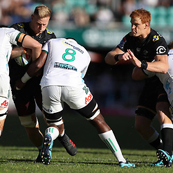 DURBAN, SOUTH AFRICA - MAY 19: Daniel Du Preez of the Cell C Sharks during the Super Rugby match between Cell C Sharks and Chiefs at Jonsson Kings Park on May 19, 2018 in Durban, South Africa. (Photo by Steve Haag/Gallo Images)