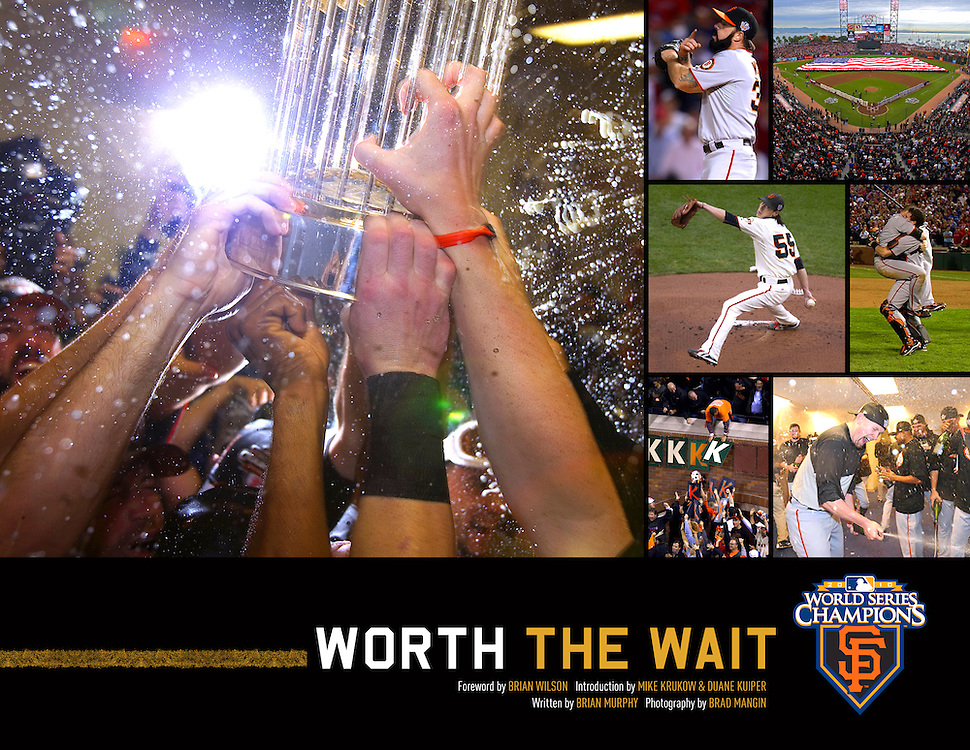 Worth the Wait (signed by Brad Mangin)<br />