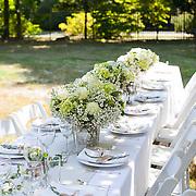 Darien of Fairfield County Connecticut Backyard Wedding