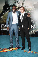Idris Elba; Robert Kazinsky, Pacific Rim European Film Premiere, BFI IMAX Waterloo, London UK, 04 July 2013, (Photo by Richard Goldschmidt)