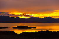 Sunrise, Coffman Cove, Prince of Wales Island, Southeast Alaska USA