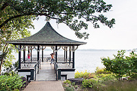 Boathouse/Gazebo at Noerenberg Memorial Gardens