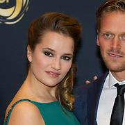 NLD/Amsterdam/20151015 - Televizier gala 2015, Barbara Sloesen en ......
