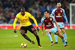 Abdoulaye Doucoure of Watford takes on Jack Cork of Burnley - Mandatory by-line: Robbie Stephenson/JMP - 09/12/2017 - FOOTBALL - Turf Moor - Burnley, England - Burnley v Watford - Premier League