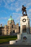 Parliament Building War Monument, Victoria, British Columbia