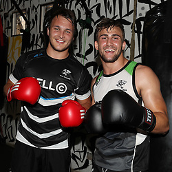 31,10,2016 The Cell C Sharks boxing session