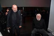 SIR PETER HALL; JOHN BALDESSARI, Miroslaw Balka/John Baldessari Opening Reception, Tate Modern. Monday 12 October