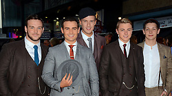 Collabro attends an exclusive charity preview screening of Downton Abbey on behalf of The Cinema and Television  Benevolent Fund  at The Empire, Leicester Square on Wednesday 17th September 2014