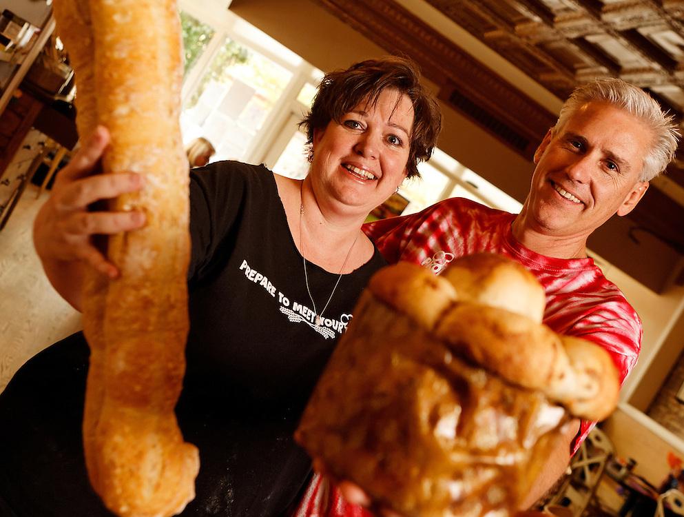 Great Harvest Bread Company in Montrose, Colorado.<br /> <br /> Photo by Barton Glasser