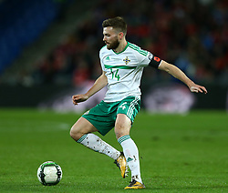 November 12, 2017 - Basel, Switzerland - Stuart Dallas of Northern Ireland  during the FIFA 2018 World Cup Qualifier Play-Off: Second Leg between Switzerland and Northern Ireland at St. Jakob-Park on November 12, 2017 in Basel, Basel-Stadt. (Credit Image: © Matteo Ciambelli/NurPhoto via ZUMA Press)