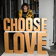 Noel Gallagher arrives at Choose Love shop launch at Foubert's Place, Carnaby on 22 November 2018, London, UK.