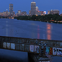 Boston night photography showing the Prudential Center, Citgo Sign, old and new Hancock Building on the banks of the Charles River with Super moon rising over the Boston skyline. <br /> <br /> Skyline photos of Boston are available as museum quality photography prints, canvas prints, acrylic prints or metal prints. Prints may be framed and matted to the individual liking and decorating needs:<br /> <br /> http://juergen-roth.artistwebsites.com/featured/the-stata-juergen-roth.html<br /> <br /> Good light and happy photo making!<br /> <br /> My best,<br /> <br /> Juergen<br /> http://www.exploringthelight.com<br /> http://www.rothgalleries.com<br /> @NatureFineArt<br /> http://whereintheworldisjuergen.blogspot.com/<br /> https://www.facebook.com/naturefineart