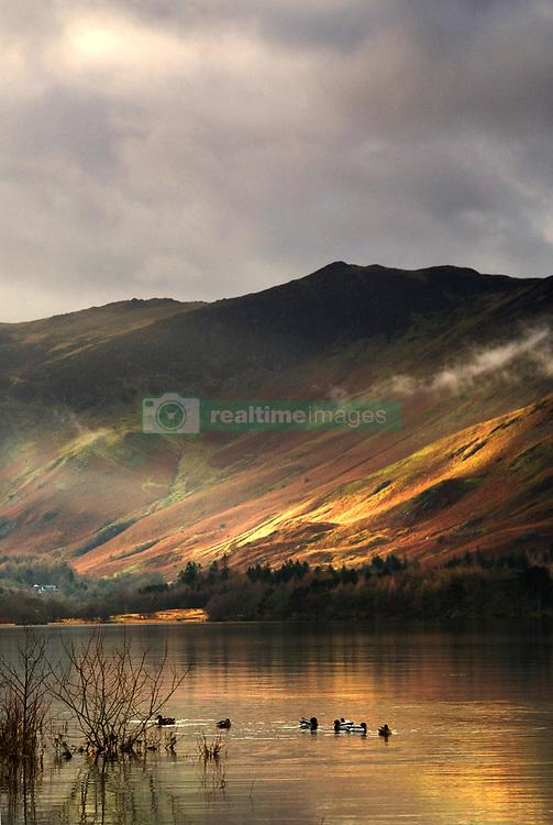 July 21, 2019 - Lake In Cumbria, England (Credit Image: © John Short/Design Pics via ZUMA Wire)