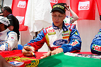 20100527: LOULE, ALGARVE, PORTUGAL - Portugal WRC Rally 2010 - Drivers signing autographs. In picture: Mikko Hirvonen (FIN) - BP Ford Abu Dhabi World Rally Team - Ford Focus RS WRC 09. PHOTO: CITYFILES