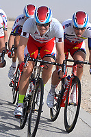 KRISTOFF Alexander (NOR) Kristoff, Grey Sprint Jersey, during the 14th Tour of Qatar 2015, Stage 5, Al Zubarah Fort - Madinat Al Shamal (153Km), on February 12, 2015. Photo Tim de Waele / DPPI