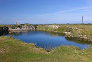 Rocket Pole Pond, Lundy Island, Devon