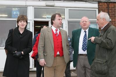 RFU Management Team at Ilkeston RFC. Sun 04-03-2007