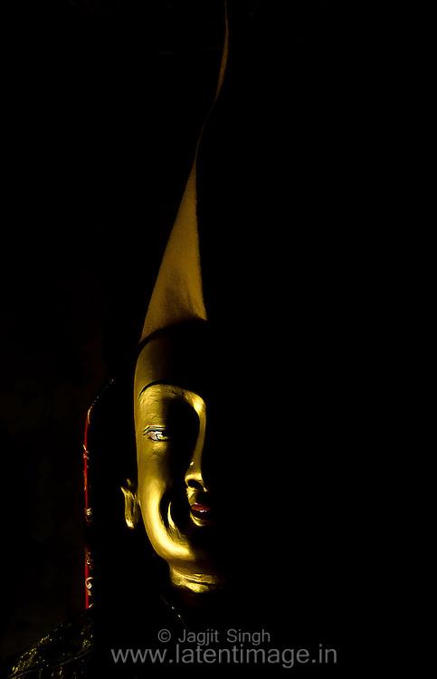 Buddha, Thiksey Monastery.