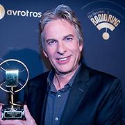 NLD/Hilversum/20180125 - Gouden RadioRing Gala 2017, Adam Curry en zijn Marconi Award