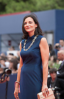 Actress Corinna Lo Castro at the gala screening for the film L'attesa at the 72nd Venice Film Festival, Saturday September 5th 2015, Venice Lido, Italy.