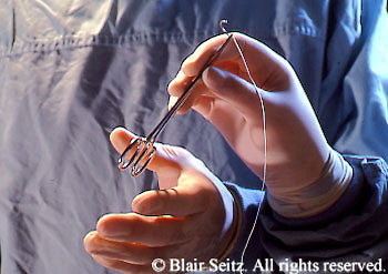 Medical, Physician at Work, OR, Surgeon and Surgical Assistant Surgery Pass Instruments, Close-up Hands