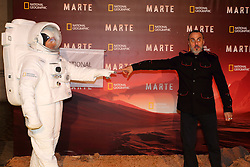 November 8, 2016 - Roma, RM, Italy - Italian actor Massimiliano Vado during Red Carpet of the premier of Mars, the largest production ever made by National Geographic (Credit Image: © Matteo Nardone/Pacific Press via ZUMA Wire)