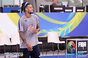DESCRIZIONE: Torino FIBA Olympic Qualifying Tournament <br /> GIOCATORE: Daniel Lorenzo Hackett<br /> CATEGORIA: Nazionale Italiana Italia Maschile Senior Allenamento<br /> GARA: FIBA Olympic Qualifying Tournament Allenamento<br /> DATA: 04/07/2016<br /> AUTORE: Agenzia Ciamillo-Castoria