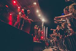 Tabu performing during last day of festival Cipkarija, 22. August in Idrija, Slovenia.  Photo by Grega Valancic