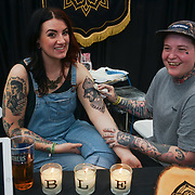 London, UK. 27 May 2017. The Great British Tattoo Show at Alexandra Palace, London,UK