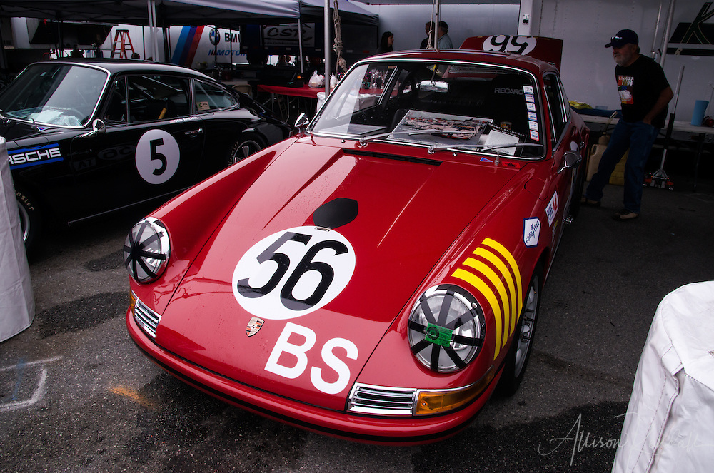 Scenes from the paddock of Mazda Raceway Laguna Seca during the 2016 Rolex Monterey Motorsports Reunion races