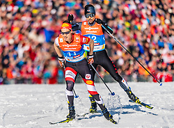 28.02.2019, Seefeld, AUT, FIS Weltmeisterschaften Ski Nordisch, Seefeld 2019, Nordische Kombination, Langlauf, im Bild Mario Seidl (AUT) // Mario Seidl of Austria during the Cross Country Competition of Nordic Combined for the FIS Nordic Ski World Championships 2019. Seefeld, Austria on 2019/02/28. EXPA Pictures © 2019, PhotoCredit: EXPA/ Stefan Adelsberger