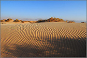 sand dunes of the arava vally.