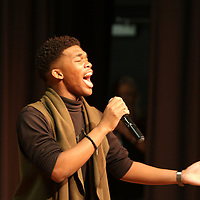 """Tae Angelo Carter performed """"A Thousand Years"""" by Christina Perri Saturday at the Tupelo Elvis Presley Fan Club's Music Scholarship competition at Elvis Presley's birthplace"""
